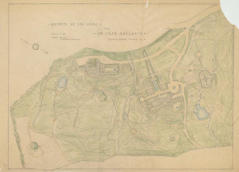 Plan for Blake Garden