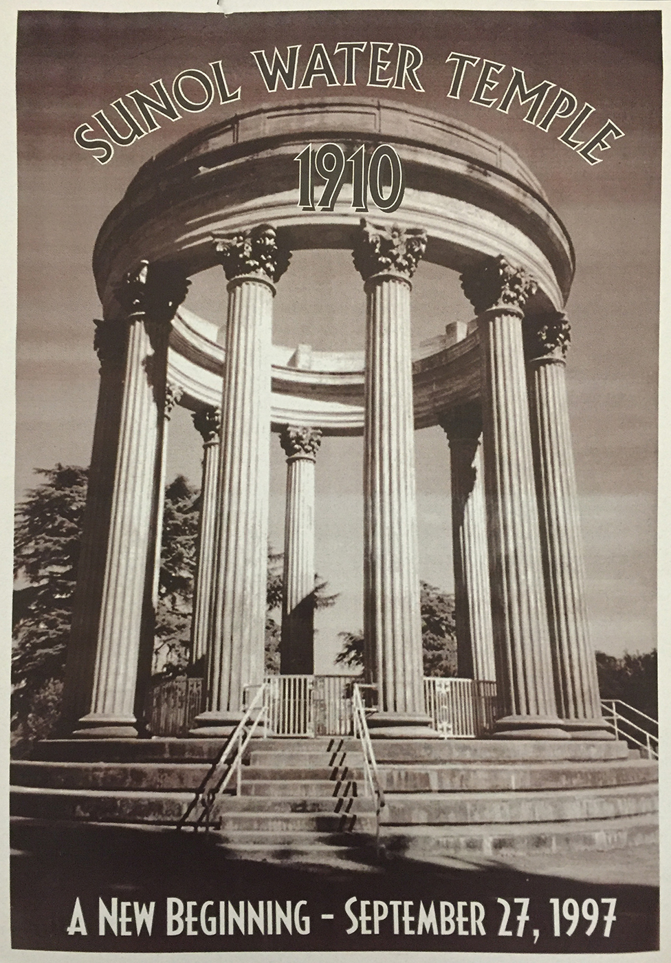 Sunol Water Temple poster