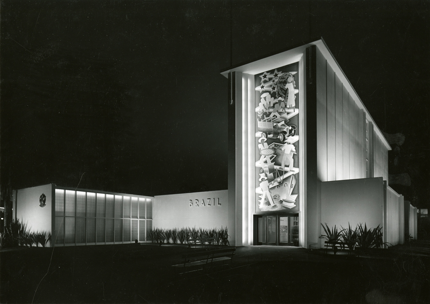 Brazil Building at the Golden Gate International Exhibition