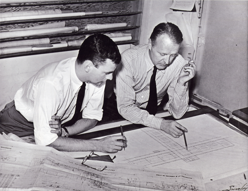 Gardner Dailey (right) and Joseph Esherick
