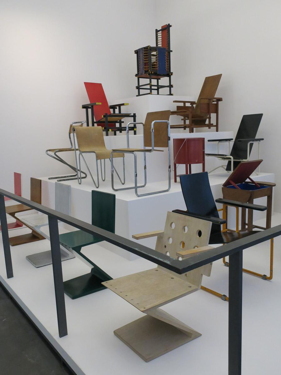 Reitveld furniture, Centraal Museum, Utrecht