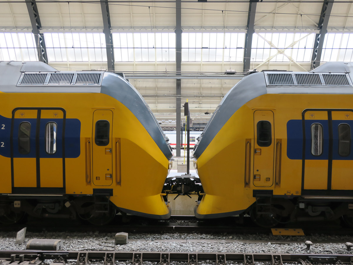 NS intercity trains, Netherlands