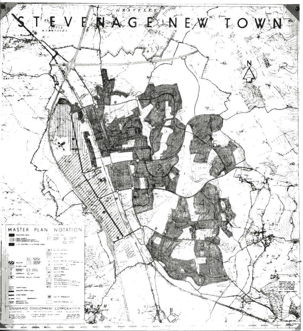Stevenage Town Plan