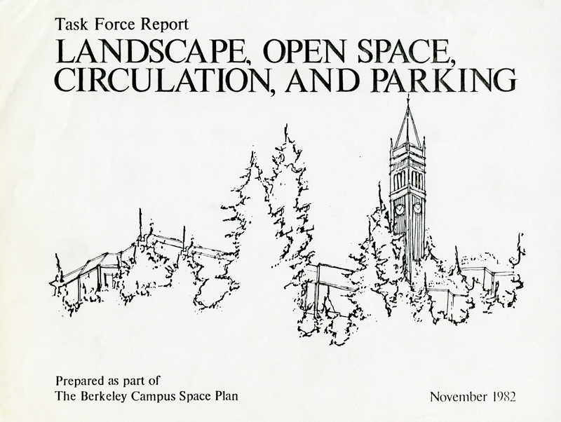 UC Berkeley Landscape Task Force Report Cover