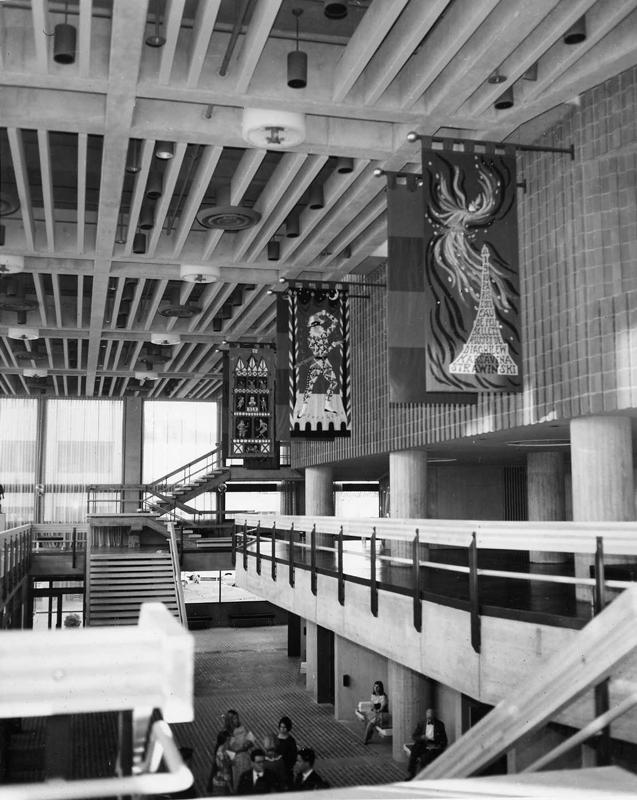 Zellerbach Auditorium Lobby